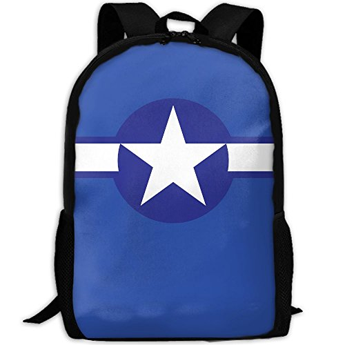 Usa Air Force Logo Interest Print Custom Unique Casual Backpack School Bag Travel Daypack - Bag Logo Custom Sunglasses