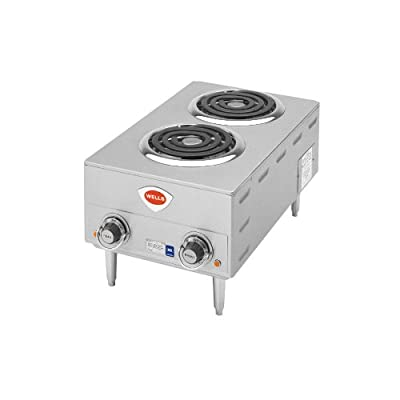 Wells H-63 Hotplate countertop electric two burners