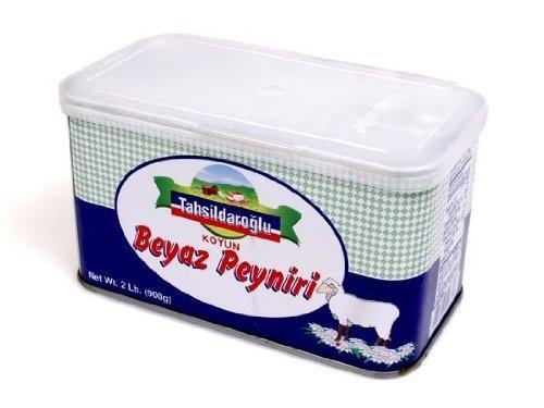 Sheep's Milk White Cheese (Feta) - 2lb by Tahsildaroglu