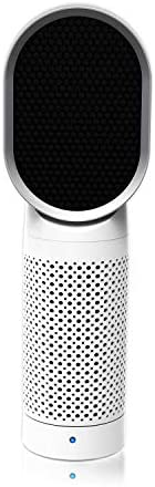 QUEENTY Desktop Air Cleaner with True HEPA Filter – Portable Air Purifier Odor Allergies Eliminator for Smoke, Dust, Bedroom, Home, Office and Pets White