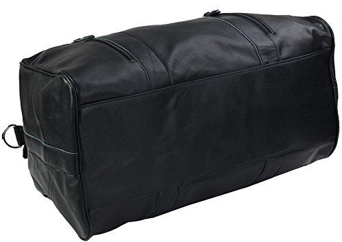 Zenness Vintage-Leder Tasche Lässig Weekender Bag Reisetasche für Männer und Frauen