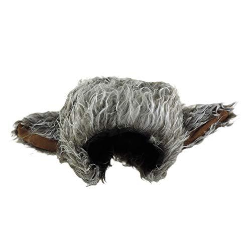 Short Halloween Rhymes For Kids (Novelty Furry Wolf Ear Hat Grey,)