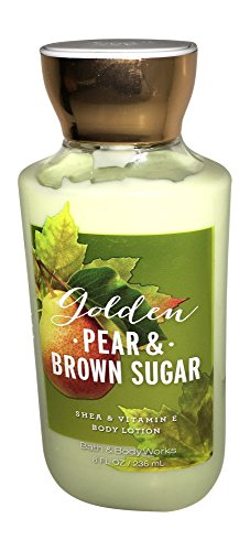 bath and body works Signature Collection Body Lotion GOLDEN PEAR & BROWN SUGAR 8 oz