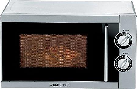 Acero inoxidable Microondas con grill Microondas dispositivo ...