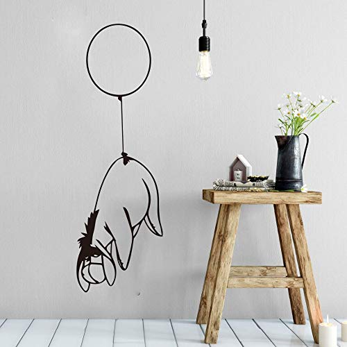 (Winnie The Pooh Wall Decal Sticker Cartoon Balloon Eeyore Wall Decal Kids Room Car Laptop Balloon Donkey Bear Wall )