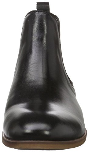 Aldo Noir Homme Leather Chelsea Croaven black Bottes rfq8r4