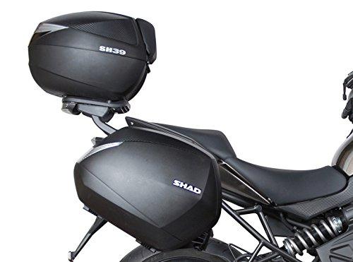 Negro Shad K0VR60IF Soporte Maletas 3P System para Kawasaki Versys 650