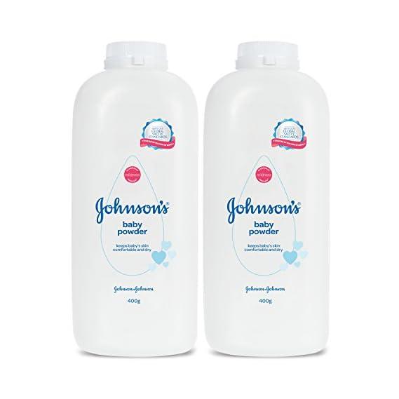 Johnson's Baby Powder For New Born Combo Offer Pack, 2 x 400g
