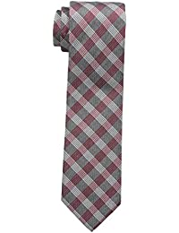 Men's Red Hot Plaid Tie