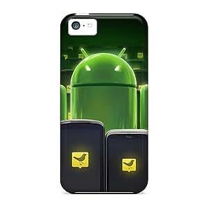 GoldenArea Iphone 5c Well-designed Hard Case Cover Android Tweetdeck Protector