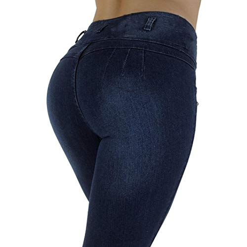 Nary Longueur Femme Pantalon Denim Mollet Taille Femme Slim Pantalon Taille Pantalon Legging Fluide Jeans Jean Haute Haute Femme Slim Femme Femme Pantalon Crayon POTTOA Skinny Stretch Trousers WFa7qOqx