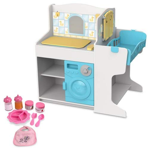 - Melissa & Doug Doll Care Play Center & Accessories Set