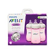 Philips AVENT Natural Bottle Set 3PK - 9oz (Girl)