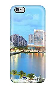 Tpu Fashionable Design Miami City Rugged Case Cover For Iphone 6 Plus New