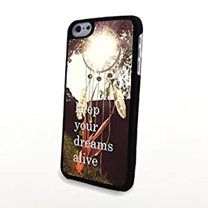 Generic Colorful Dream Catcher PC Phone Cases fit for iPhone 5C Cases Plastic Protective Hard Case Matte Back