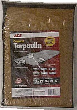 Ace Canvas Tarpaulin (10X12BR) by Gosport Manufacturing