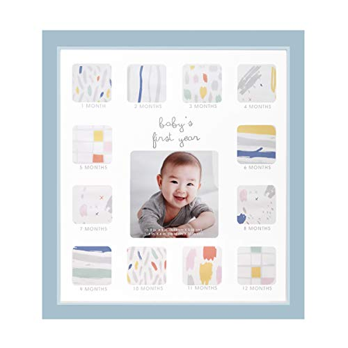 - Collage Photo Frame for Baby First Year Keepsake - 12 Months Picture Frames with Twelve 1.8