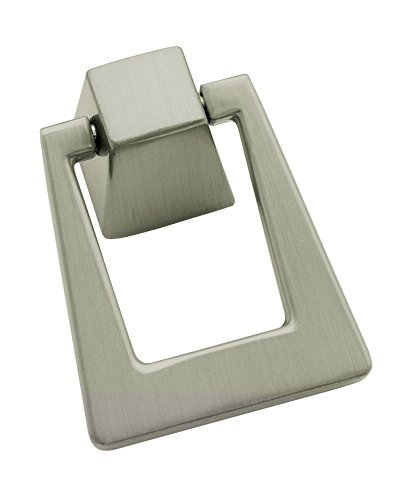 Amerock BP55274G10 Blackrock Cabinet Pulls, 1-13/16 inch (46 Millimeter) Length, Satin Nickel ()