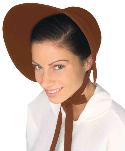 Forum Novelties Felt Bonnet-Brown