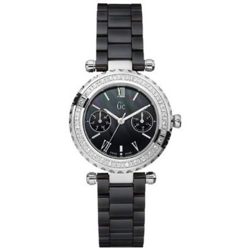 4c0663f8f Image Unavailable. Image not available for. Colour: Ladies Gc Diver Chic  Ceramic Diamond Watch I01200L2