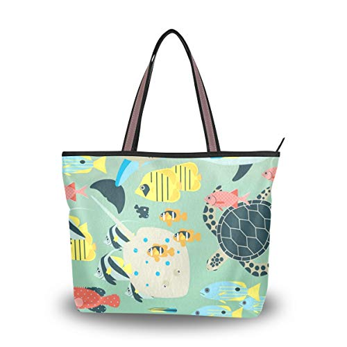 Tote Bag With Underwater...