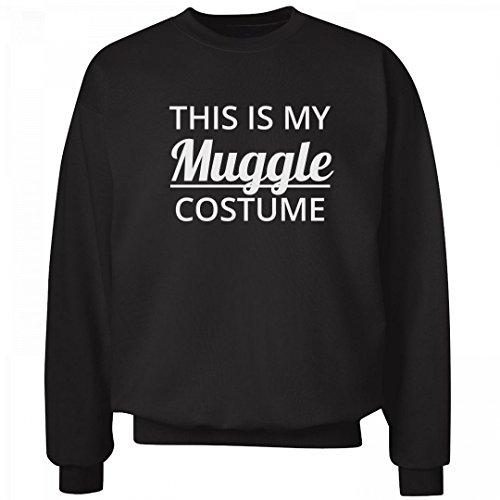 Holiday Costumes Columbus Ohio (This Is My Muggle Costume Black: Unisex Hanes Ultimate Crewneck Sweatshirt)