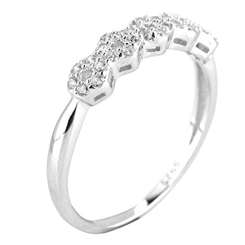 Jewelrypalace capricorn cubic zirkonia einstellbare ring 925er sterling silber