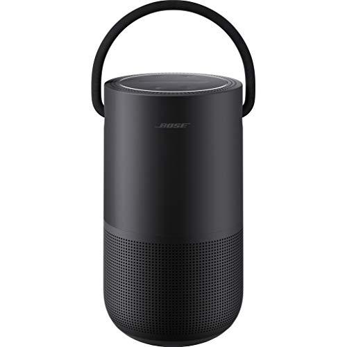 Bose Portable Smart Speaker – Altavoz portátil con control de voz Alexa integrado, Color Negro