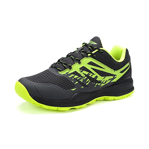 XTEP Mens Sports Shoes Athletic Running Shoes (Green) - 8