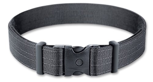 Uncle Mike's Kodra Nylon Web Deluxe Duty Belt (Large, Black)