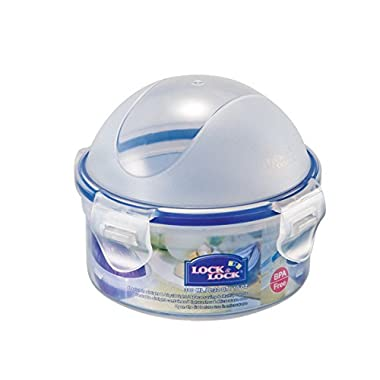 LOCK & LOCK Airtight Round Food Storatge Container, Onion Case 10.14-oz / 1.27-cup