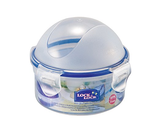 (LOCK & LOCK Airtight Round Food Storatge Container, Onion Case 10.14-oz / 1.27-cup)
