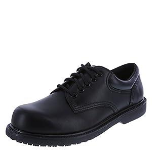 safeTstep Slip Resistant Men's Manager Oxford