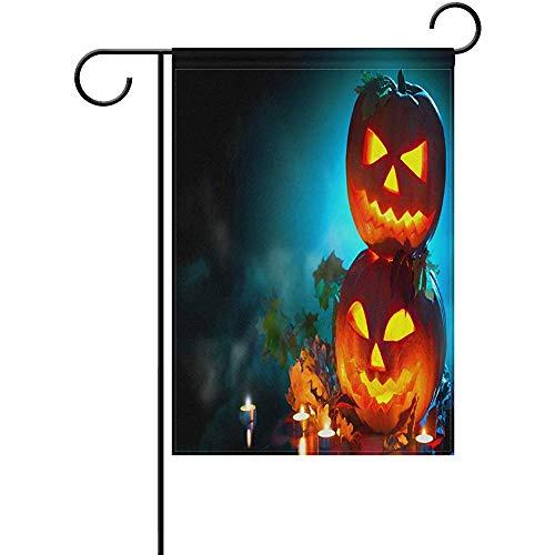 Staroapr Halloween Pumpkin Head Jack Lantern Garden Flag Banner 12