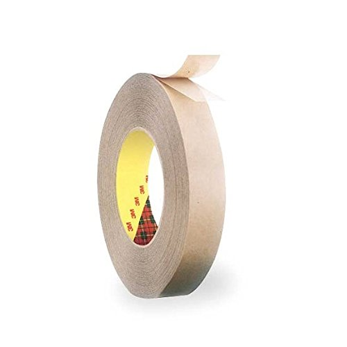 - 3M Scotch 924 Adhesive Transfer Tape, 1/2 inch X 60 Yards, Clear (465 Bulk)