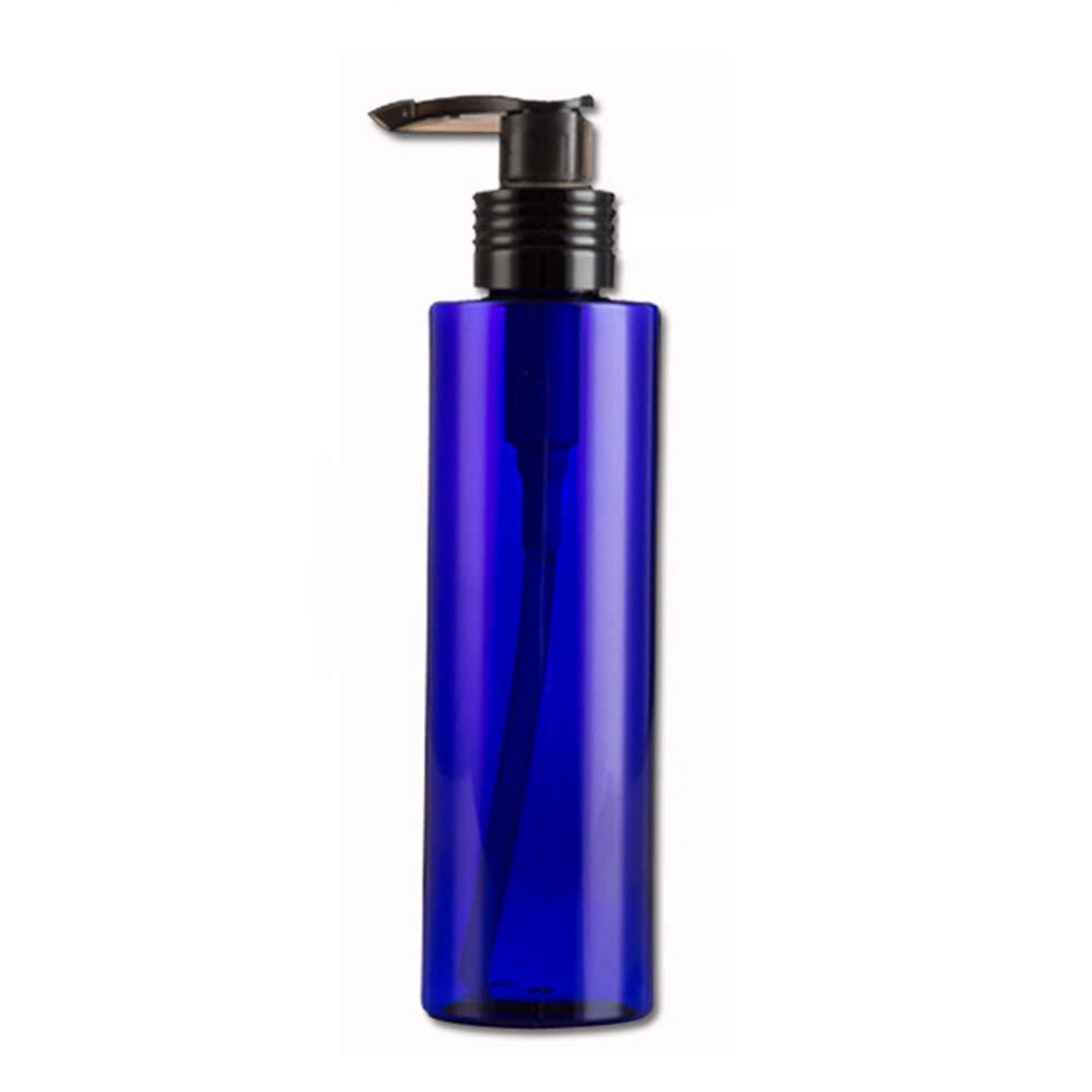 Yinpinxinmao Lotion Shampoo Shower Gel Container Soap Dispenser Pump Bottle-100/200/250ml Refillable Bottle Blue 200ml