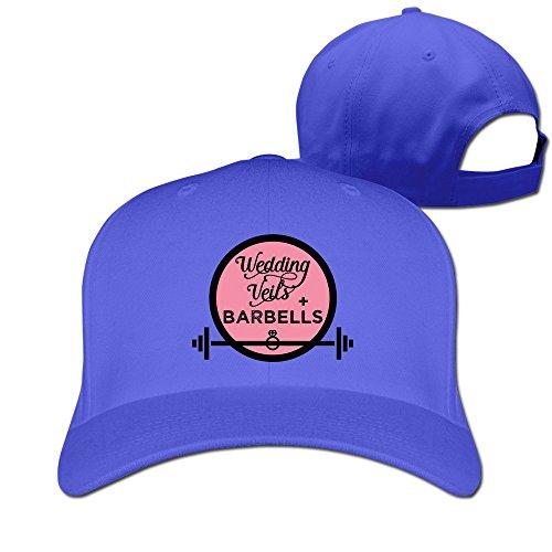 (Wedding Veils Barbells Diamond Ring Adjustable Fitted Hats Baseball Hats)