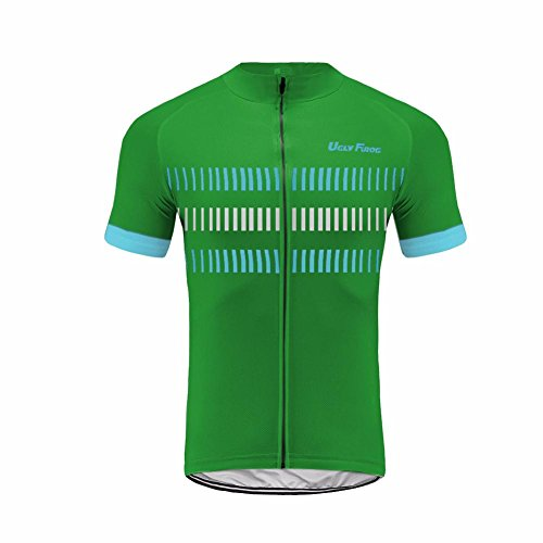 Wade Jersey D (Uglyfrog 2018 Newest Designs Bike Wear Cycling Jersey Mens Short Sleeve Breathable Bicycle Dries Quickly Clothes)