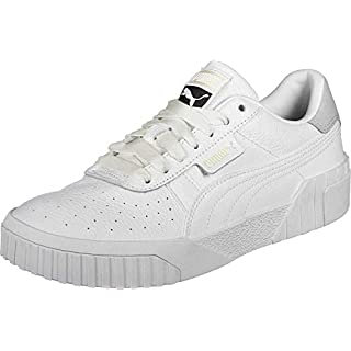 PUMA Women's Low-Top Sneakers, White White, US-0 / Asia Size s