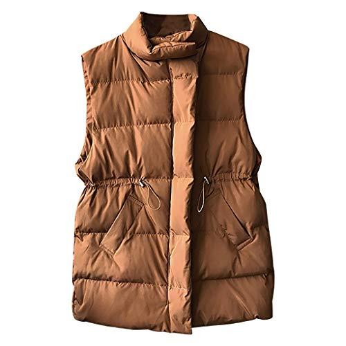 [해외]Solid Color Coat for Women Fashion Cardigan Zipper Pocket Fluffy Vintage Shaggy Vest Sleeveless Jacket Casual Coat / Solid Color Coat for Women Fashion Cardigan Zipper Pocket Fluffy Vintage Shaggy Vest Sleeveless Jacket Casual Coat