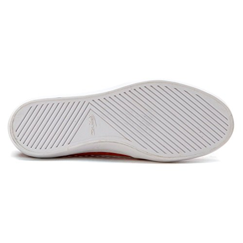 Orange 216 Women's Gazon Lacoste Slip 1 White Flat On zw4A0aqx06