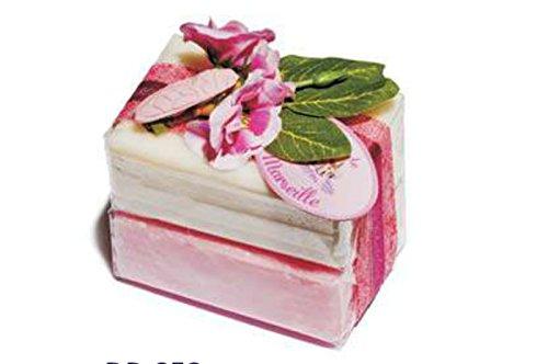 Savon de Marseille Bath Soap Bars Gift Set - Rose & Jasmin