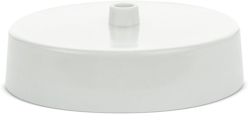 Rosa de Techo con Base de 3,5 de di/ámetro Color Blanco BG Electrical 561-BG
