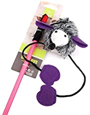 Giggling Cat Toy Dangler multicolour