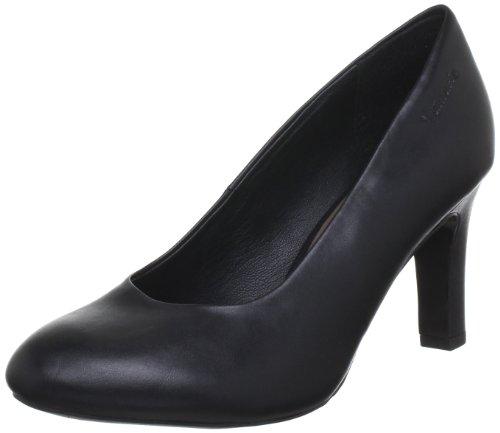 para Zapatos 001 Schwarz de 22482 de TAMARIS cuero Tamaris Negro 1 30 mujer Black tacón 1 fv1qX