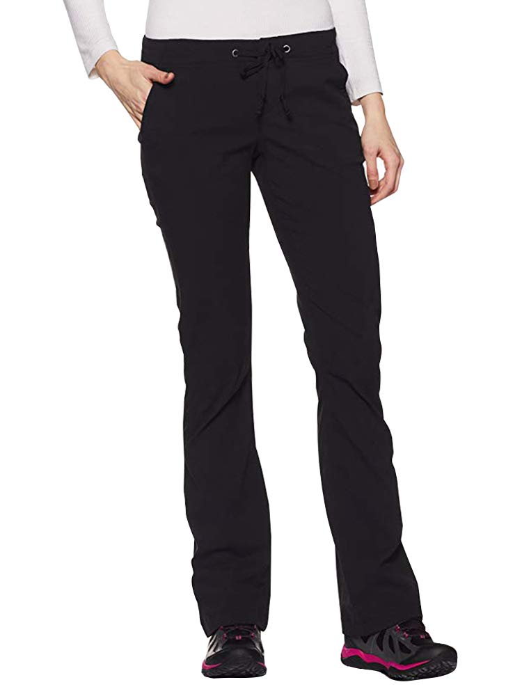 Women's Anytime Outdoor Boot Cut Pant, Water and Stain Repellent,Hiking,Travel,campling 2063-Black-26 by Toomett