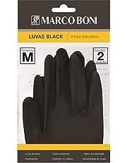 Luva Black Caixa com 10 Unidades, Marco Boni