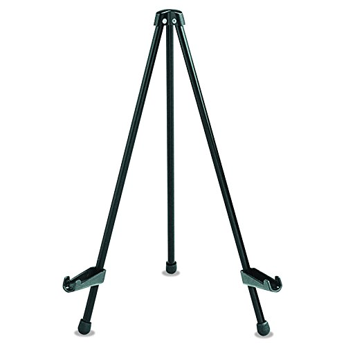 "Quartet Easel, Tabletop Instant, 14"" High, Supports up to 5 lbs, Portable & Collapsible, Black (28E)"