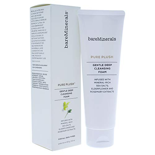 - bareMinerals Pure Plush Deep Cleansing Foam, 4.2 Ounce