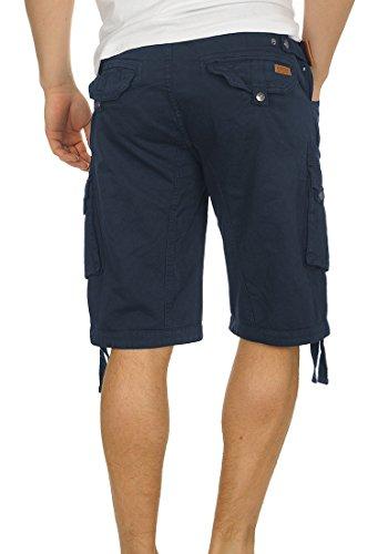 coton marine Bermuda avec coupe Indicode ceinture Homme classique Mensode en Hampton 100 Bermuda rzf7qr